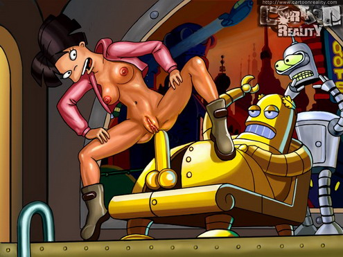 Futurama space hardcore – Amy & Leela - Cartoon Reality Futurama sex cartoon