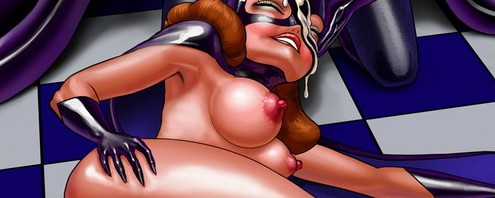 Cartoon lust slut