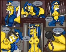 The Simpsons sex comix - Cartoon Reality Simpsons sex cartoon