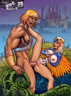 Muscled lover comics - Cartoon Reality He-Man sex cartoon