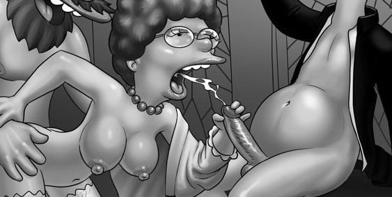 xxx crazy porn of Simpsons porn1