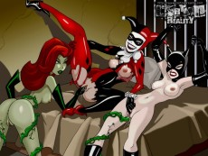 Gotham Porn - Cartoon Reality Gotham Girls