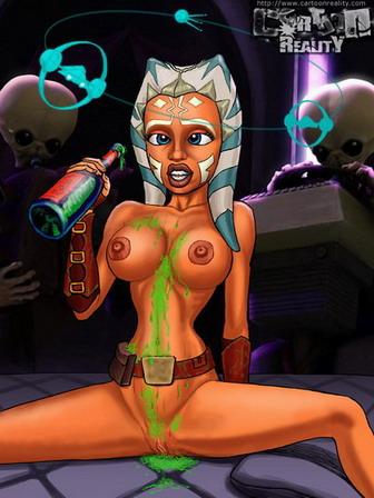star wars sex toons